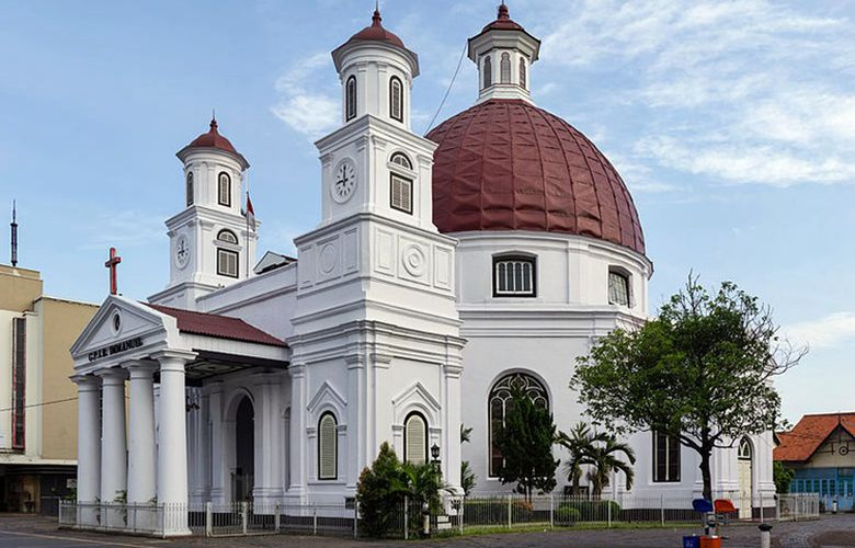 Semarang Punya 7 Obyek Wisata Kaya Sejarah Menarik Dikunjungi Gereja