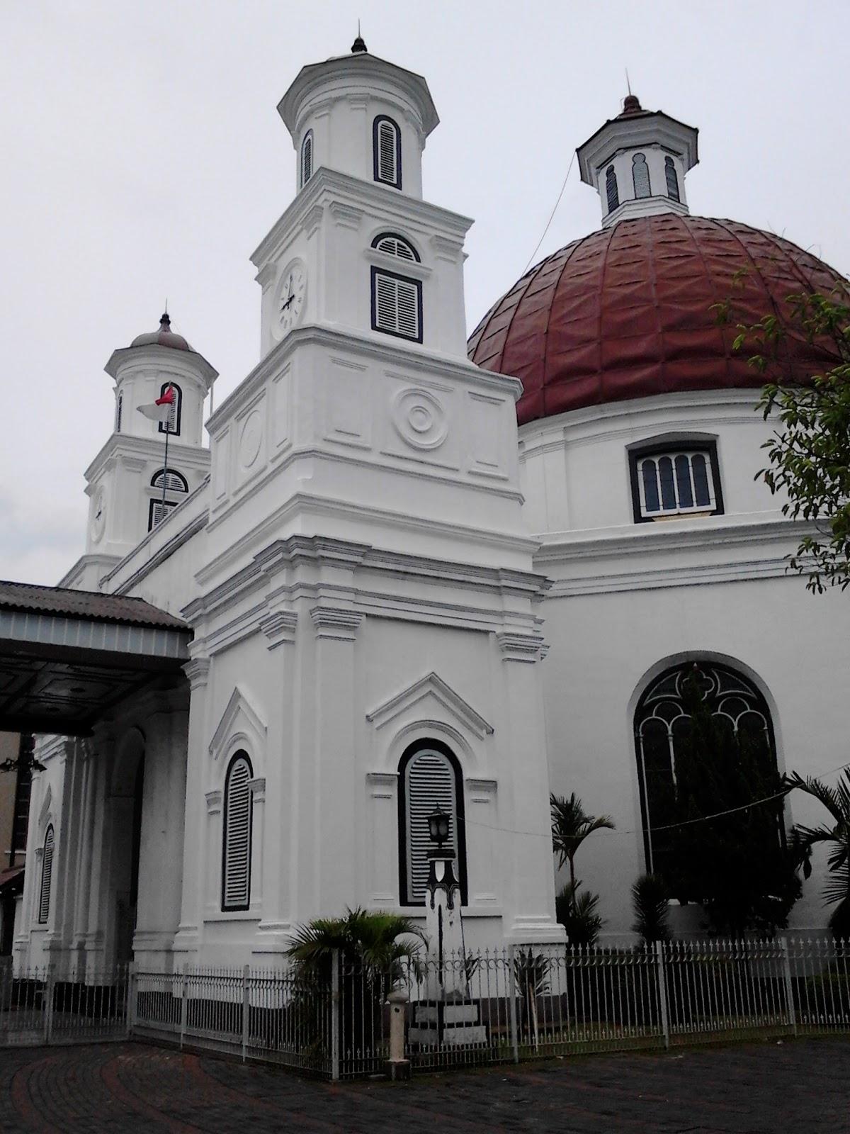 Seputar Kudus Semarang Gereja Blenduk Kota Kab