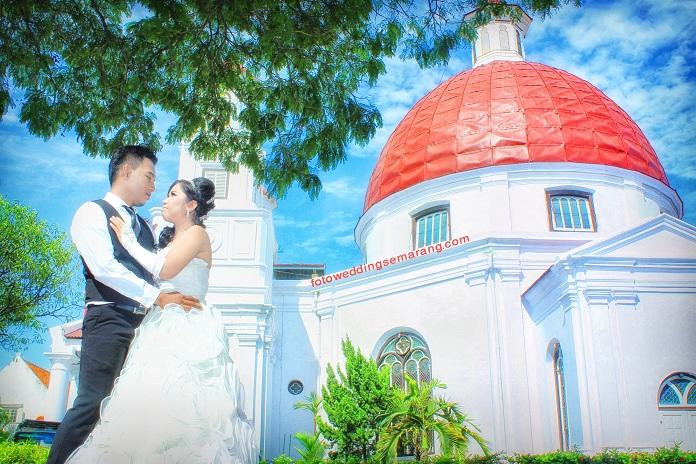 Spot Lokasi Tempat Foto Pre Wedding Semarang Jasa Prewedding Christav