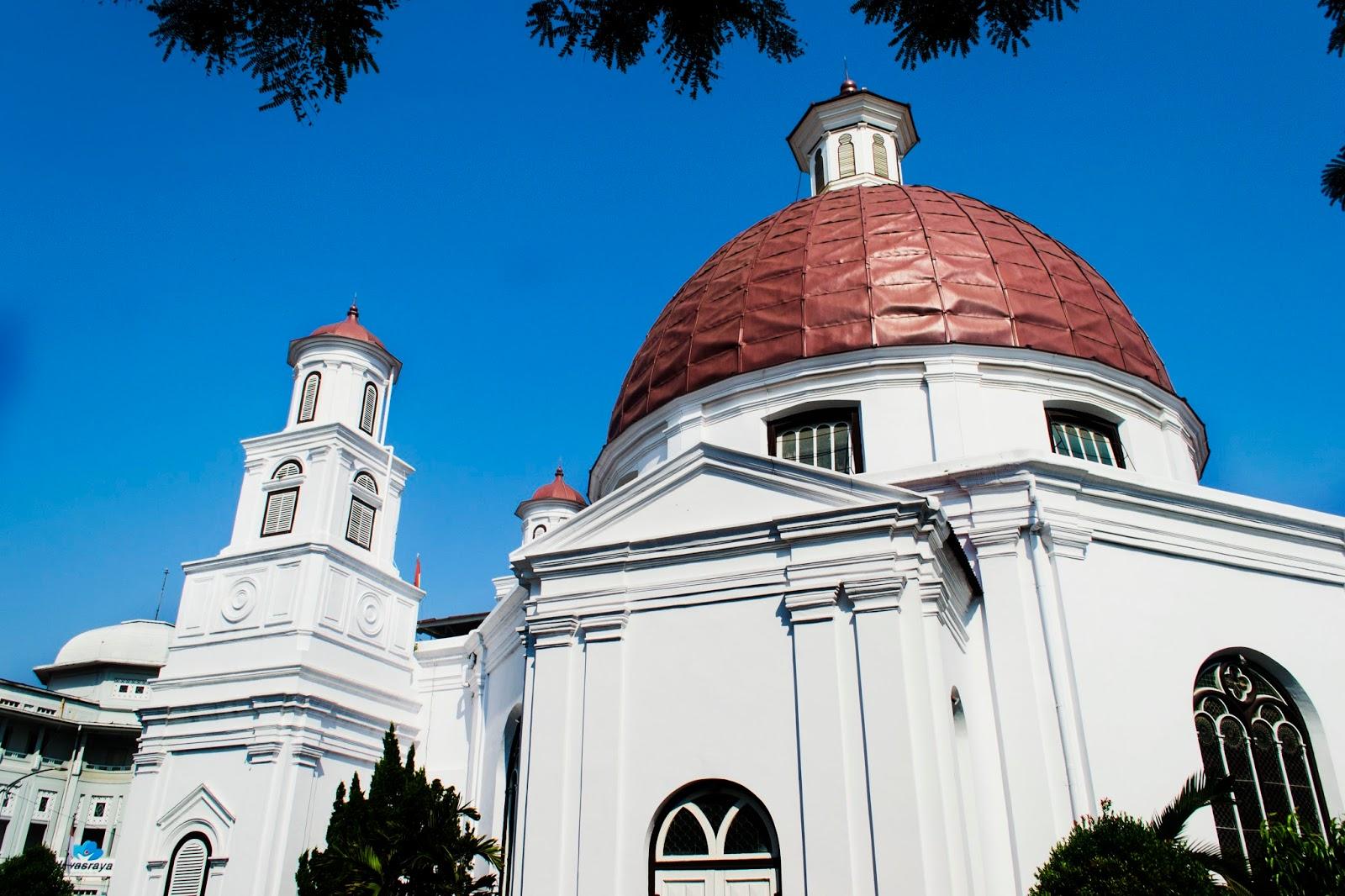 Travelovely Megahnya Gereja Blenduk Kota Semarang Kab