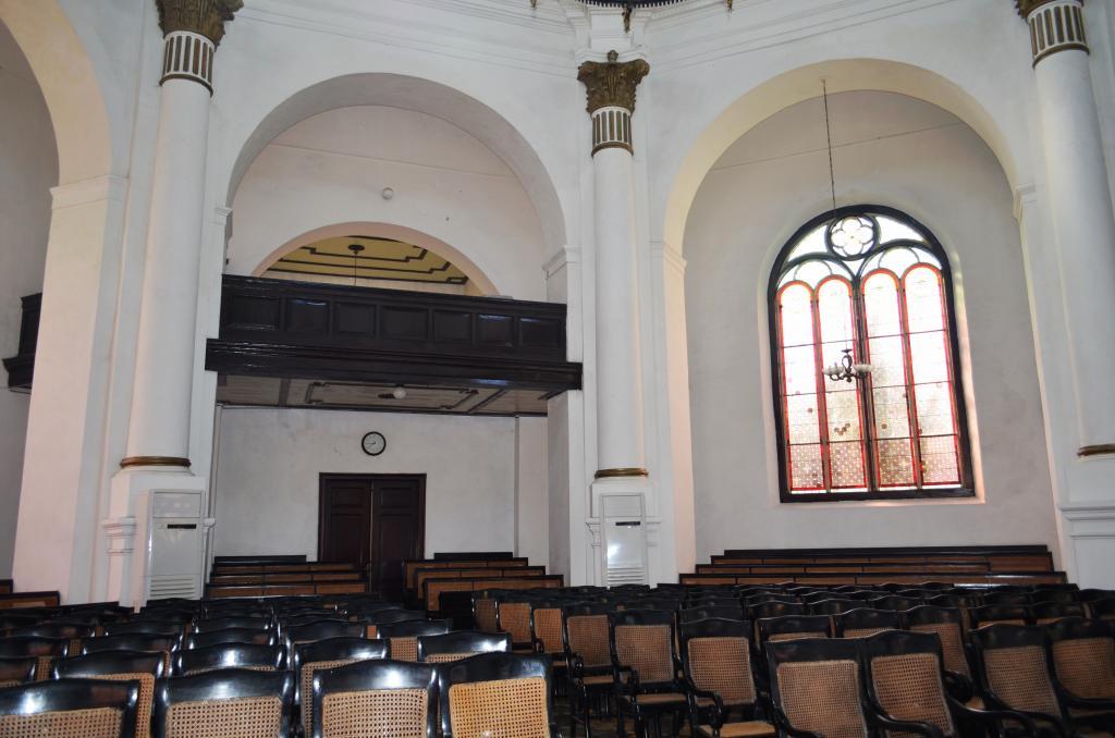 Wisata Religi Gereja Blenduk Kota Semarang Jawa Tengah Interior Kab