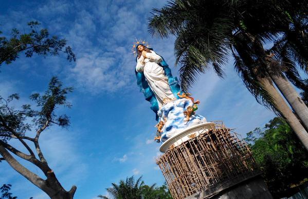 Exsplore Jawa Tengah Patung Bunda Maria Ambarawa Tertinggi Dunia Dibangun