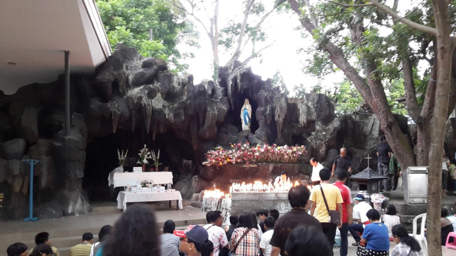 Gua Maria Kerep Ambarawa Berdua Bersama Keliling Indonesia Kab Semarang
