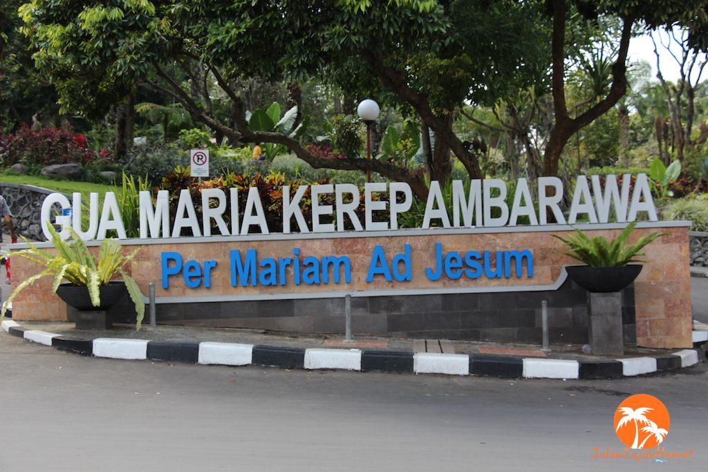 Gua Maria Kerep Ambarawa Jalan Jajan Hemat Berlokasi Kecamatan Kabupaten