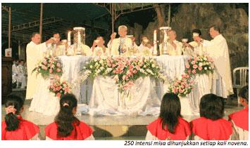 Gua Maria Kerep Ambarawa Menjadi Tradisi Bertahun Mengadakan Novena Bunda