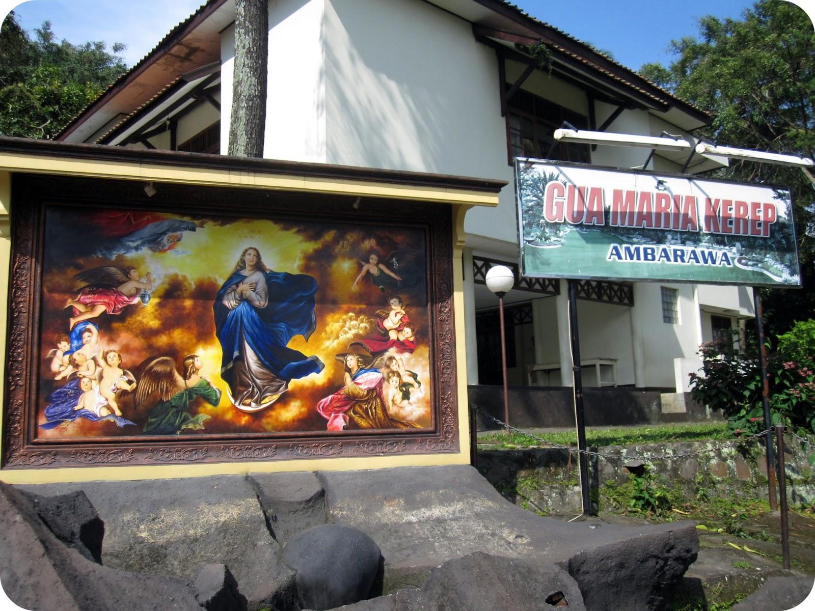 Gua Maria Kerep Ambarawa Paket Wisata Religi Gmka Dikenal Bukanlah