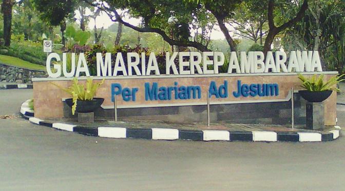 Gua Maria Kerep Ambarawa Portal Kab Semarang