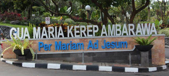 Jalan Salib Jajan Hemat Gua Maria Kerep Ambarawa Kab Semarang