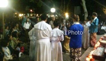 Malam 1 Sura Misa Suran Gua Maria Kerep Semarang Jatengpos
