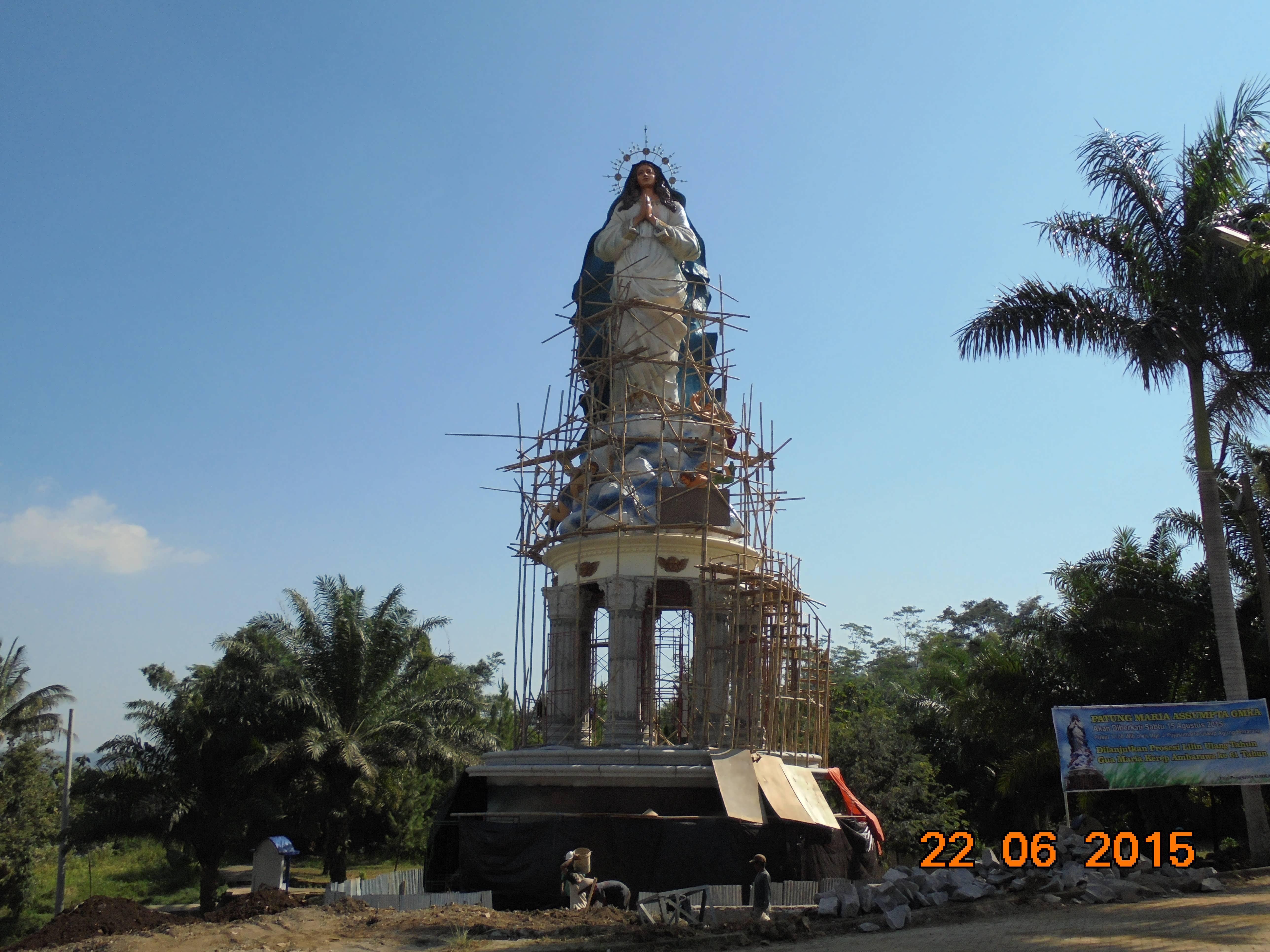 Patung Bunda Maria Kerep Ambarawa Tertinggi Didunia Paroki Kutoarjo Tanggal