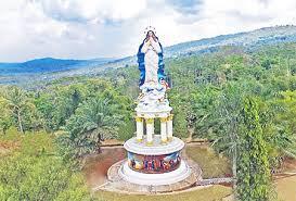 Patung Bunda Maria Tertinggi Indonesia Ambarawa Ristituta26 Diberi Nama Assumpta
