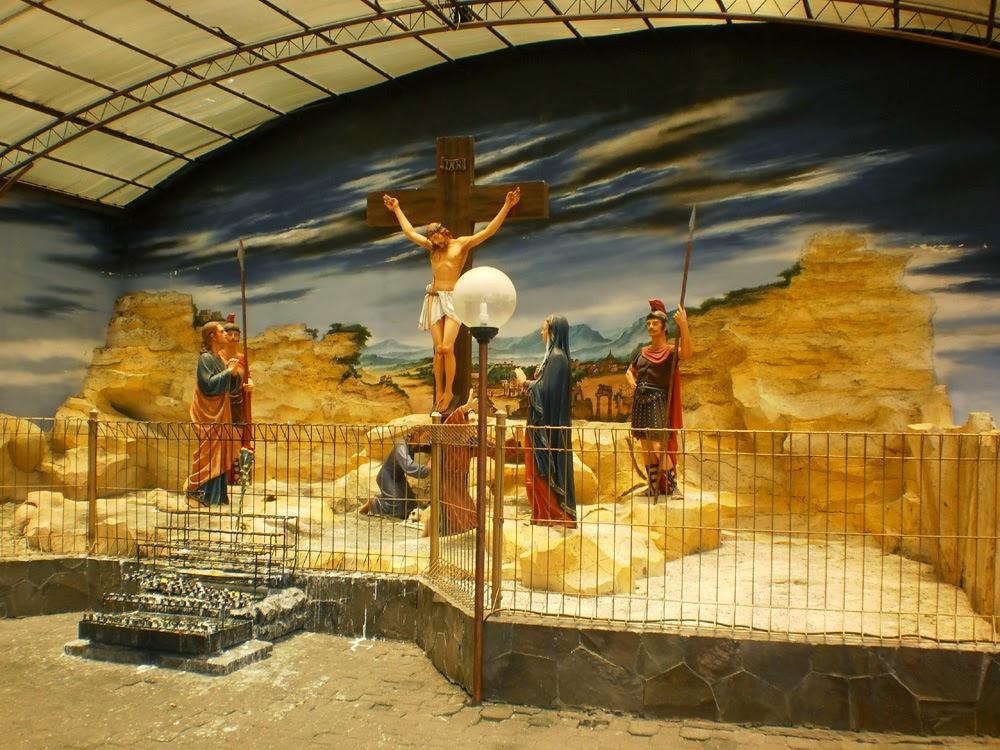 Wisata Kerukunan Beragama Gua Maria Kerep Dmy Official Meski Tak