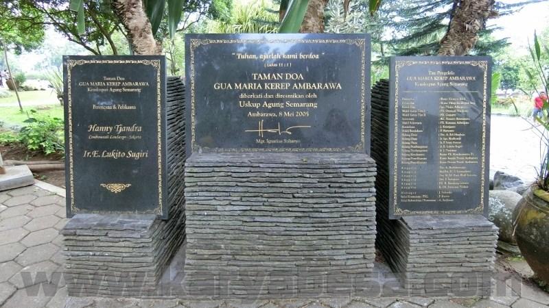 Ziarah Gua Maria Kerep Ambarawa Jawa Tengah 2017 Karyabesacom 6