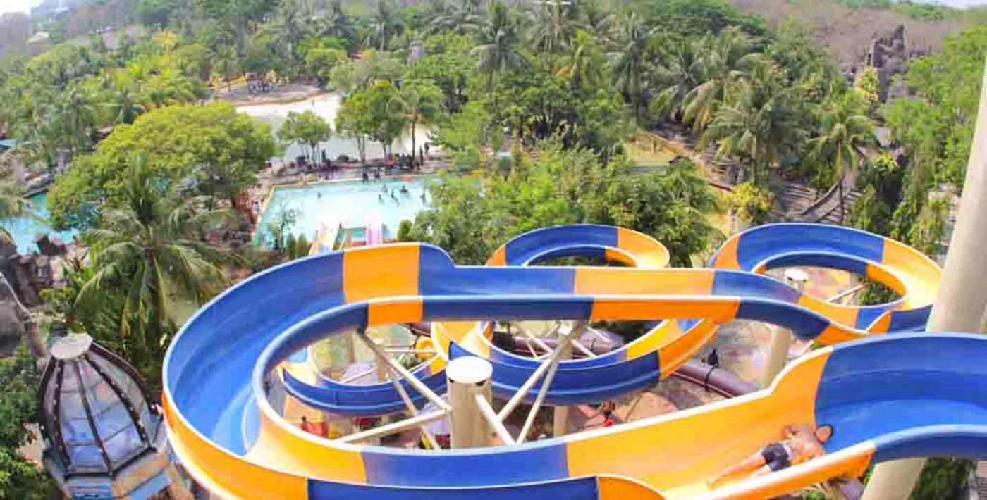 Atlantis Water Adventure Waterboom Jungle Toon Waterpark Semarang Kab