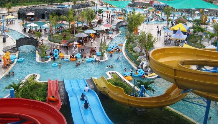 Caribbean Island Water Park Balikpapan Jungle Toon Waterpark Semarang Kab