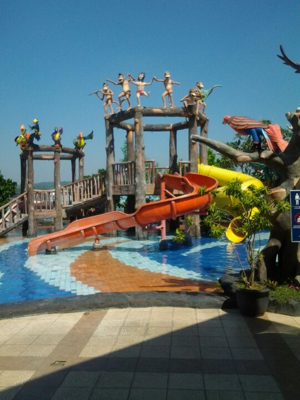 Dream Wisata Air Kota Semarang Jungle Toon Water Park Waterpark