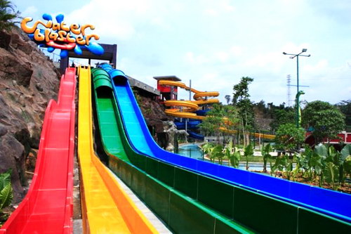 Dream Wisata Air Kota Semarang Water Blaster Jungle Toon Waterpark