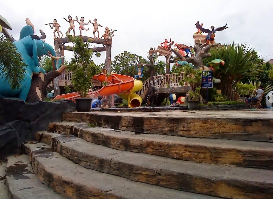 Jungle Toon Waterpark Semarang Wisata Kolam Renang Kab