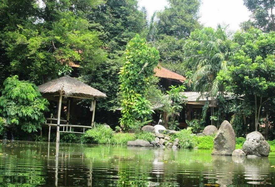 Kampung Seni Lerep Ungaran Semarang Jungle Toon Waterpark Kab