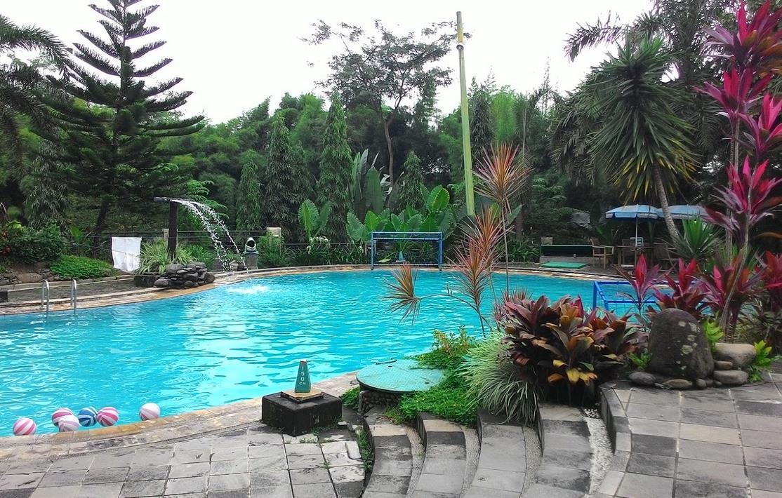 Kolam Renang Fountain Ungaran Semarang Jungle Toon Waterpark Kab