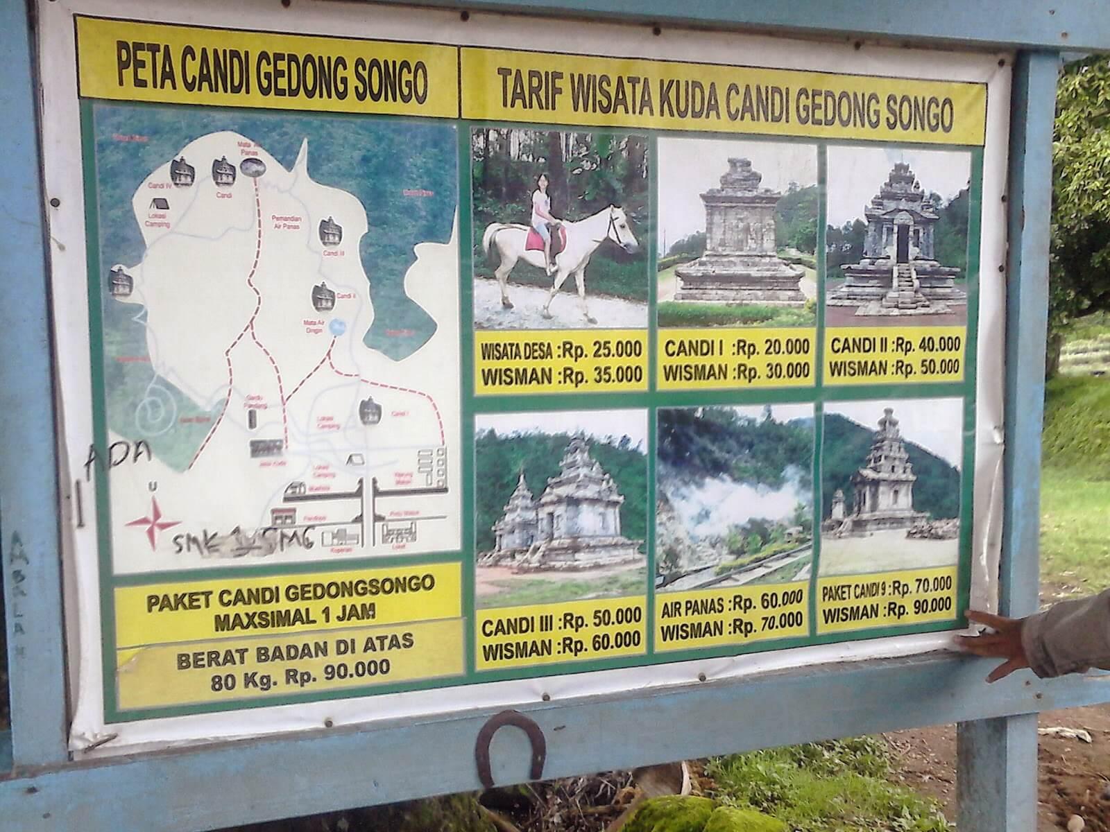 Obyek Wisata Candi Gedong Songo Semarang Paket Kuda Jungle Toon