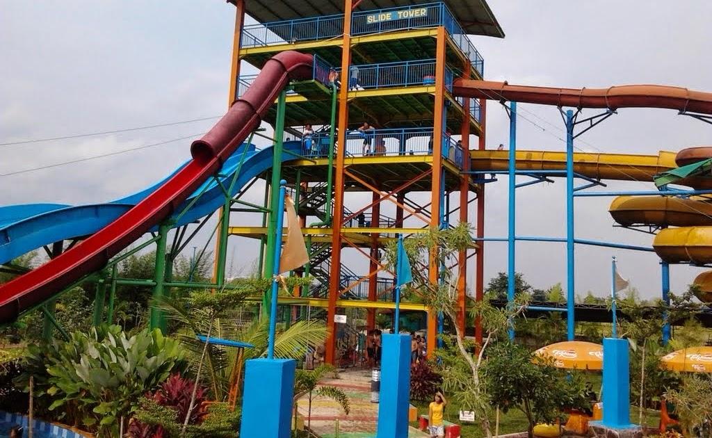 Opi Waterboom Palembang Jungle Toon Waterpark Semarang Kab