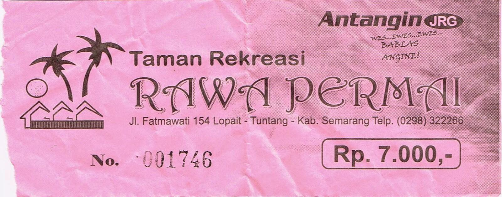 Rawa Permai Taman Rekreasi Kabupaten Semarang Tiket Jungle Toon Waterpark
