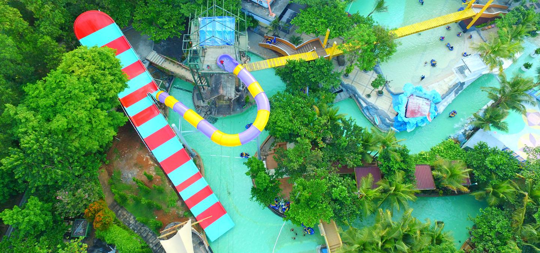 Tentang Water Blaster Indonesia Semarang Boomerang Jungle Toon Waterpark Kab