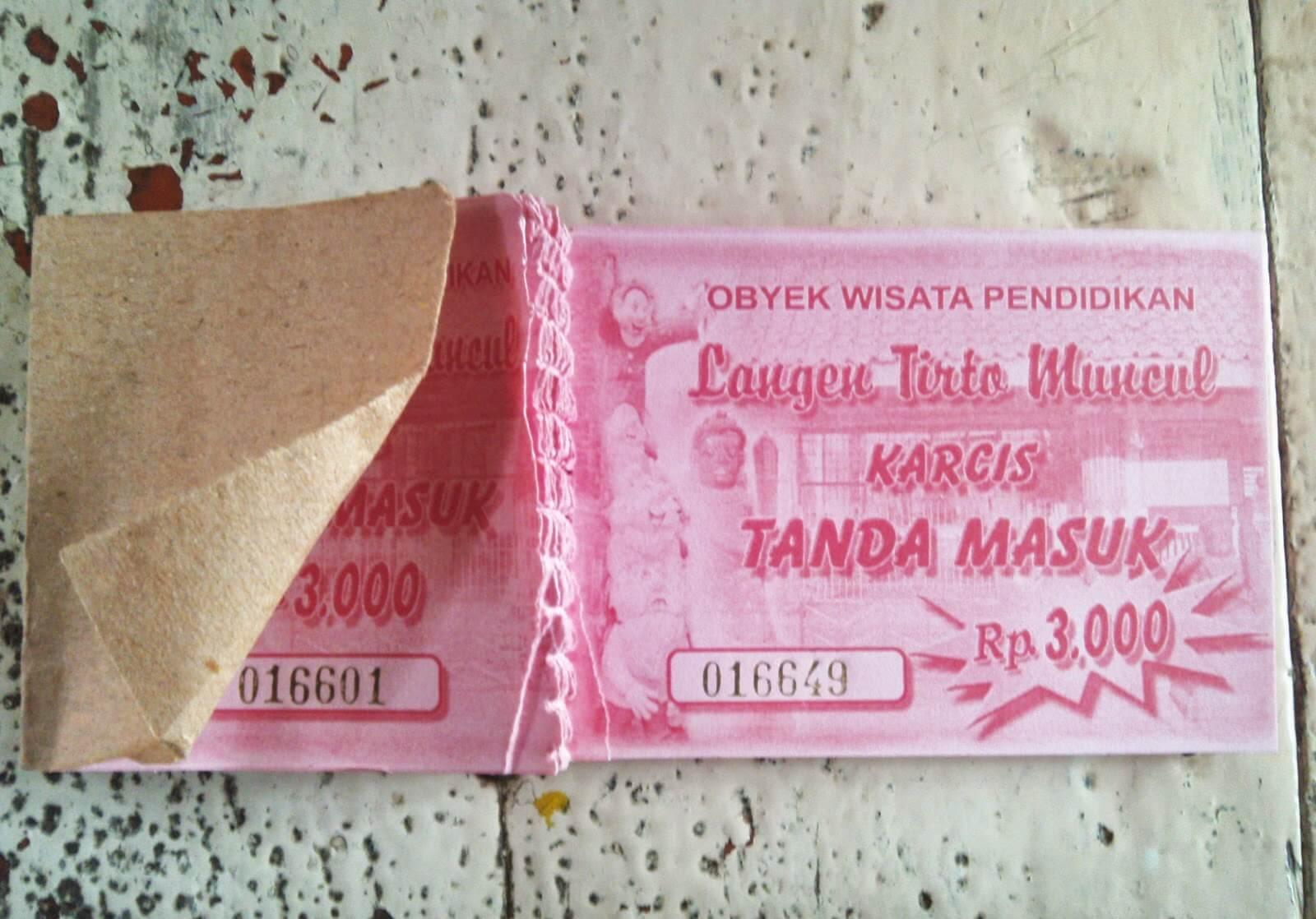 Tiket Langen Tirto Muncul Semarang Jungle Toon Waterpark Kab