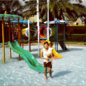 Tiket Masuk Fountain Waterpark Resto Ungaran Semarang Keseruan Bermain Air