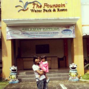 Tiket Masuk Fountain Waterpark Resto Ungaran Semarang Pintu Foto Instagram