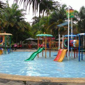 Tiket Masuk Fountain Waterpark Resto Ungaran Semarang Water Park Foto