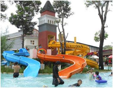 Venetian Water Carnaval Waterboom Jungle Toon Waterpark Semarang Kab