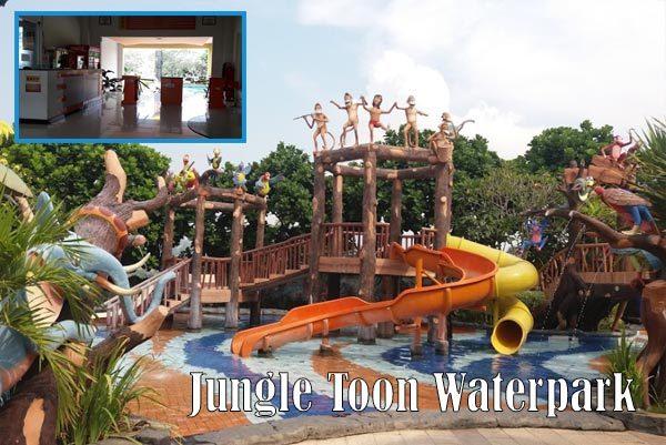 Wahana Wisata Permainan Air Waterpark Kota Semarang Kanal Jungle Toon