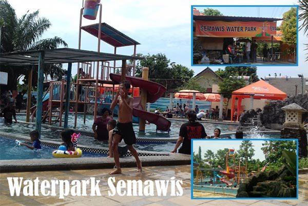 Wahana Wisata Permainan Air Waterpark Kota Semarang Kanal Semawis Kedungmundu