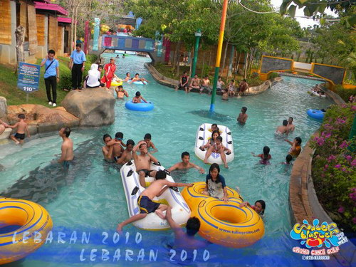 Waterblaster Lazy River Stream Water Blaster Semarang Jungle Toon Waterpark