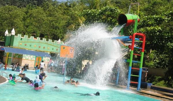 Kampoeng Kopi Banaran Semarang Bawen Explore Gazebo Wahana Permainan Air
