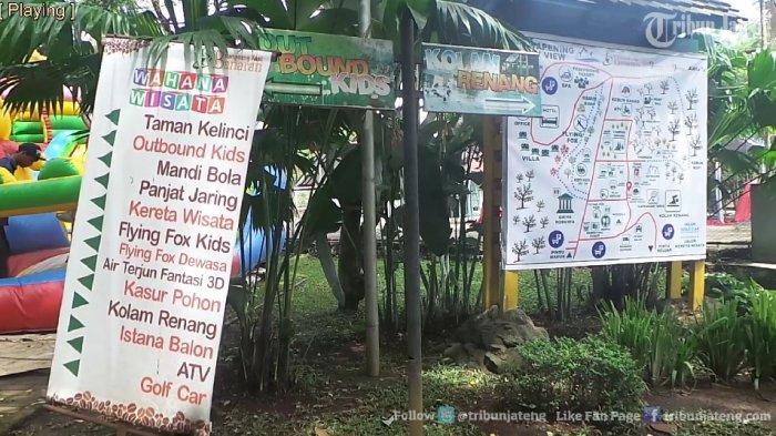 Ternyata Wahana Wisata Keluarga Kampoeng Kopi Banaran Lengkap Videonya Kab