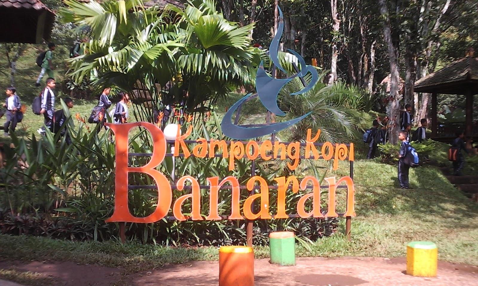 Wisata Kampoeng Kopi Banaran Semarang Kota Kampoen Terletak Wilayah Kabupaten