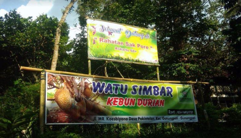 50 Wisata Semarang Hits Direkomendasikan Reservasi Kebun Durian Edukasi Watu