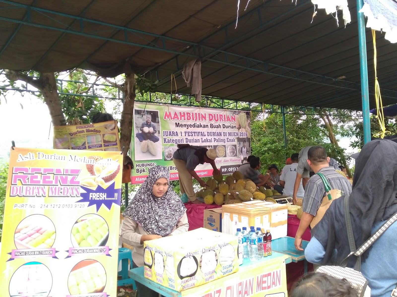 Semarang Coret Lezatnya Festival Durian Gua Kreo Kebun Wisata Edukasi