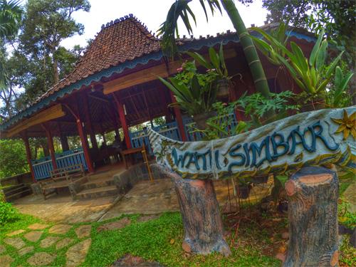 Semarang Wisata Sekaligus Belajar Kebun Durian Watu Simbar Pendopo2 Edukasi