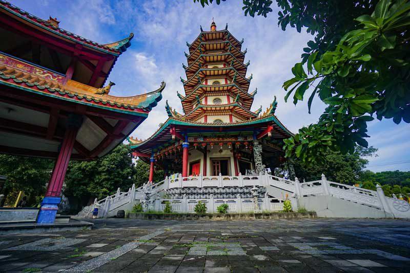 50 Wisata Semarang Hits Direkomendasikan Reservasi Pagoda Avalokitesvara Buddhagaya Watugong