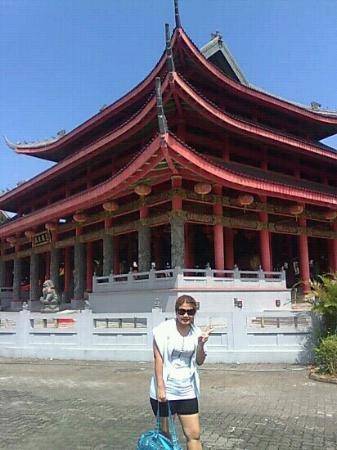 Exterior Klenteng Sam Poo Kong Picture Po Temple Avalokitesvara Kab