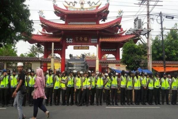 Imlek Polres Semarang Kerahkan 190 Personel Amankan Kelenteng Perayaan Klenteng