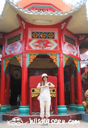 Menengok Vihara Avalokitesvara Banten Wisata Seru Mejeng Depan Klenteng Kab