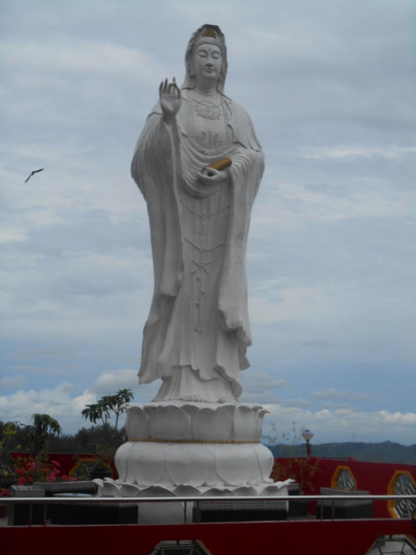 Semarang Ungaran Vihara Avalokitesvara Gunung Kalong Klenteng Kab