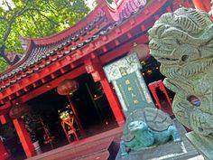 Teratai Ungu Pagoda Avalokitesvara Semarang Places Visit Klenteng Indonesia Kab