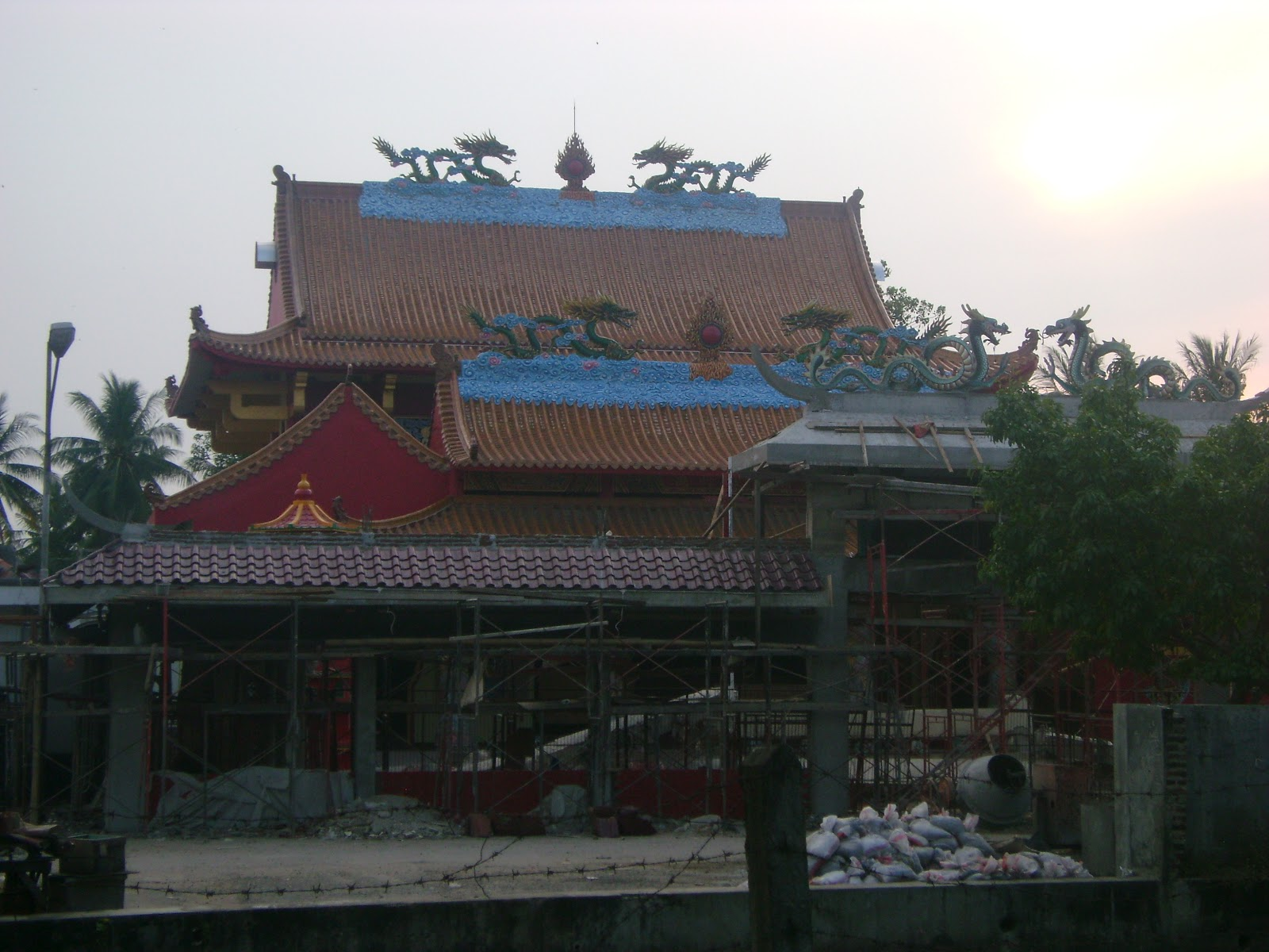 Vihara Avalokitesvara Kekunaan Termasuk Kawasan Situs Banten Konon Dibangun Sekitar