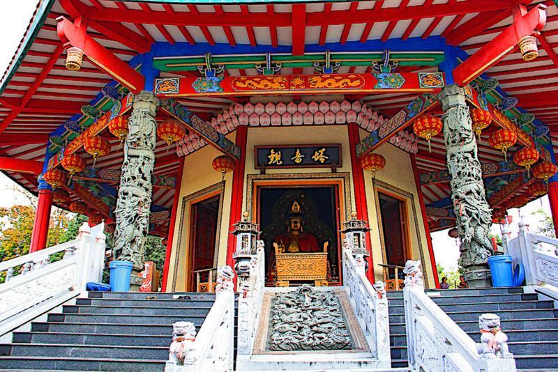 Wisata Religi Pagoda Budhagaya Kota Semarang Jawa Tengah Klenteng Avalokitesvara